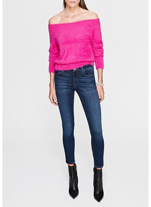 Mavi Jean Pantolon | Adriana Ankle - Super Skinny Lacivert